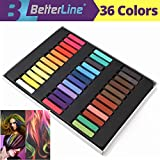 Hair Chalk Set for Temporary Hair Color for Kids,...
